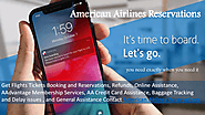 Get American Airlines flight information with American Airlines Reservations