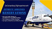 Get JetBlue Airlines Cheap flight & Ticket Deals through JetBlue Airlines Reservations