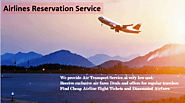 Find the cheapest fare in airlines Reservations Services