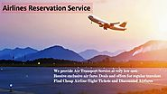 Find deals for flight booking with Airlines Reservation Experts