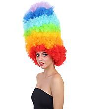 Buy Colourful Rainbow Wigs For Women At Nunique