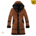 Womens Fur Lined Hooded Coats CW695111 - CWMALLS.COM