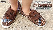 DIY Chewbacca Shoes