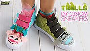 DIY Trolls Shoes Tutorial