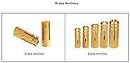 Brass Anchors Brass drop in Anchors Fasteners