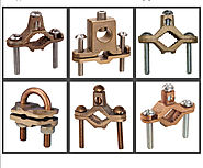 Grounding Clamps in Bronze Pipe Clamps in Bronze