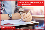 5 Weak words you must avoid in PTE Essay Task – MasterPrep