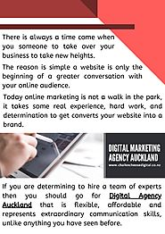 digital marketing agency in auckland and tauranga for promoting your business