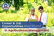 Career & Job Opportunities after PGDM in Agribusiness Management - ISMR B-School