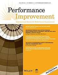 Job performance aids. Job aids really can work: A study of the military application of job aid technology