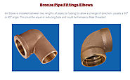 Bronze Pipe Fittings Elbows – Bronze casting Copper casting Aluminium bronze casting Stainless Steel Brass casting in...