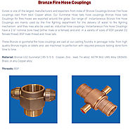 Bronze Fire Hose Couplings – Bronze casting Copper casting Aluminium bronze casting Stainless Steel Brass casting in ...