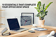 10 Essentials That Complete Your Office Desk Space - HNI India