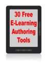 30 Free E-Learning Authoring Tools | Joe DiDonato on Learning: The Road Ahead