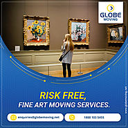 Risk-free, Fine Art Moving Services.