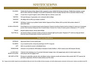 ATS Nobility - Specifications