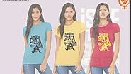 Graphic Printed T-shirt for Women Just Rs.299/-