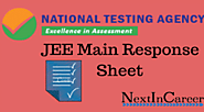 JEE Main Response Sheet 2020 | Check your Responses @jeemain.nic.in