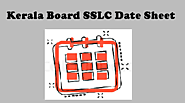 Kerala Board SSLC Date Sheet 2020 | KBHSE 10th Time Table 2020