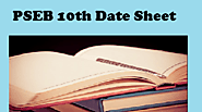 PSEB 10th Date Sheet 2020 | Punjab Board 10th Time Table 2020