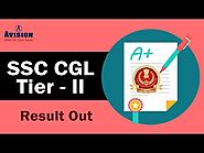 SSC CGL Tier II Result Out