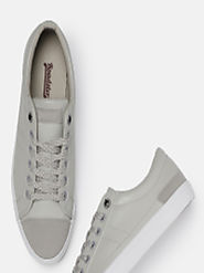 Buy Roadster Men Grey Sneakers - Casual Shoes for Men 6940189 | Myntra