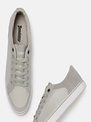 Buy Roadster Men Grey Sneakers - Casual Shoes for Men 6940175 | Myntra