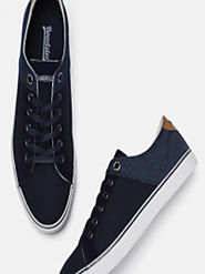 Buy Roadster Men Blue Sneakers - Casual Shoes for Men 6940185 | Myntra