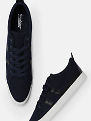 Buy Roadster Men Navy Blue Sneakers - Casual Shoes for Men 5962184 | Myntra