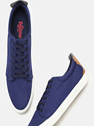 Buy Roadster Men Blue Sneakers - Casual Shoes for Men 5841905 | Myntra