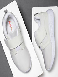 Buy Mast & Harbour Men White Sneakers - Casual Shoes for Men 4286376 | Myntra