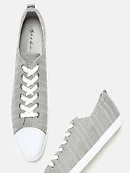 Buy Mast & Harbour Men Grey Sneakers - Casual Shoes for Men 5841848 | Myntra