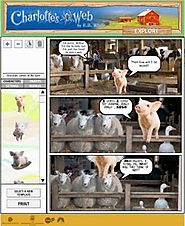 Children's Writing- Charlotte's Web Comic Maker