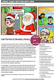 Free PDF, Using Comic Editors with Kids
