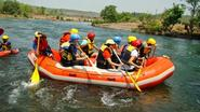 Thrilling River Rafting at Kolad on Sunday 13th July 2014 with Vibes Outdoors
