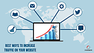 Best ways to increase traffic on your website