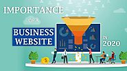 Importance of website for every business in 2020