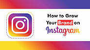 8 Tips to Grow your Brand on Instagram