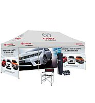 Buy Canopy Tent With Unlimited Colour Printing From Tent Depot | Canada