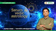 Planet Saturn in Vedic Astrology