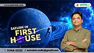 Saturn in 1st House of Vedic Astrology | Shani in Your Horoscope