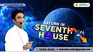 Saturn in 7th House of Horoscope