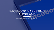 What's New About Facebook Marketing Auckland