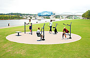 Explore The Health Benefits of Outdoor Fitness Equipment