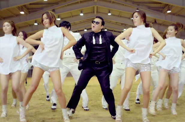 Headline for What's your Favorite Gangnam Style Video?