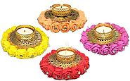 Saugat Traders Decorative Candles Set of 6 for Deepawali Decoration Candle Price in India - Buy Saugat Traders Decora...