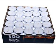 paras candle tealigh candle white pack of 100 Candle Price in India - Buy paras candle tealigh candle white pack of 1...