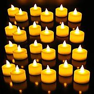 Rosevestla LED Tea lights Candles –Flameless Tealight Candle – Battery Operated Candle Price in India - Buy Rosevestl...