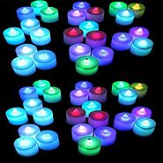 TrendShop Multi Color LED C Candle (Multicolor, Pack of 24) Candle Price in India - Buy TrendShop Multi Color LED C C...