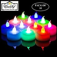 Ein Sof ES-Multi-LED-TLITES Candle Price in India - Buy Ein Sof ES-Multi-LED-TLITES Candle online at Flipkart.com